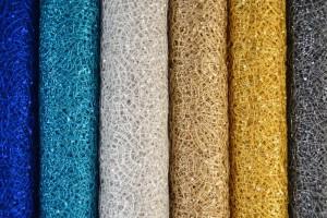 Sequin Fabrics Openwork