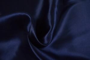 Satin 48 navy blue