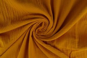Muslin 47 ochre yellow