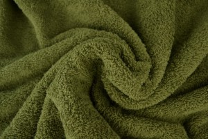 Towelling 33 moss green