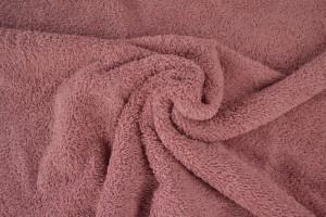 Towelling 38 dark old pink
