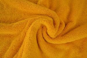 Towelling 47 ochre yellow