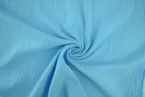 Muslin 06 aqua blue