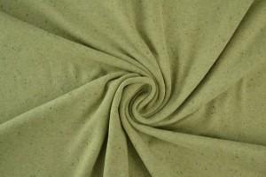 Cotton jersey melange 07 green