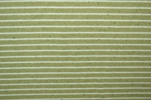 Cotton jersey melange 07 green stripes