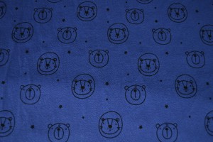 Cotton washed print w03-15