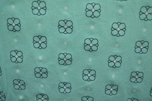 Cotton washed print w04-05