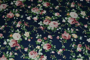 Cotton print 3217-8 navy