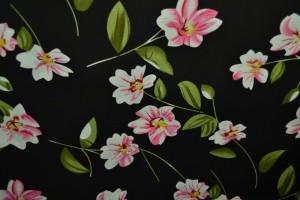 Cotton print 8001-4 black