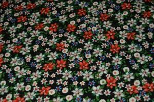 Cotton print 9794-4 black