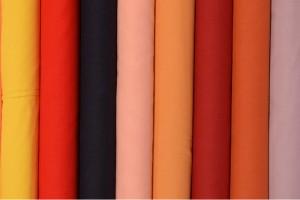 Color card cotton voile