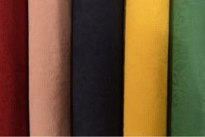 Color card cotton jacquard