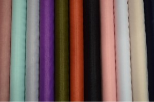 Color card tulle soft