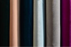Color card velvet