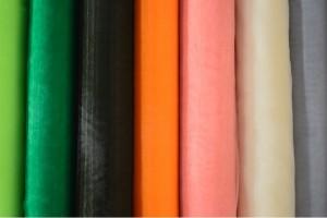 Color card organza