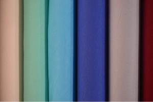 Color card viscose jersey