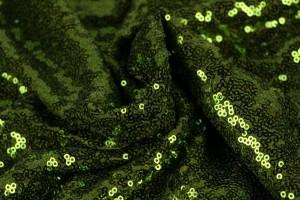 Sequins 14 moss green
