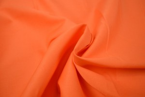Cotton poplin 23 dark orange