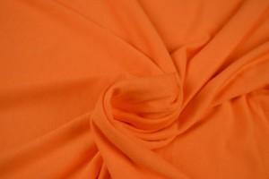 Viscose jersey 10 orange