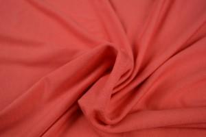 Viscose jersey 50 coral pink