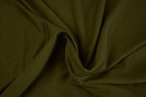 Viscose jersey 33 dark moss green