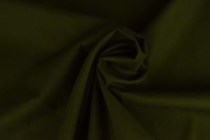 Cotton poplin 33 dark moss green