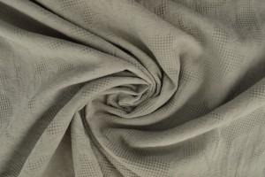 Cotton jacquard 25 silvergrey