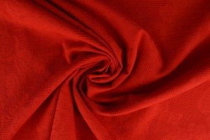 Cotton jacquard 01 red