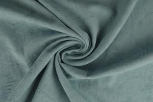 Cotton jacquard 52 vintage blue