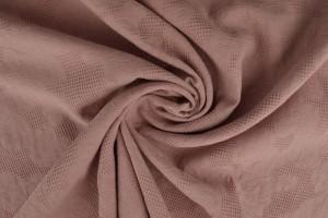 Cotton jacquard 38 dark old pink