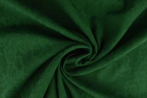 Cotton jacquard 32 dark green