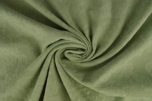 Cotton jacquard 34 old green