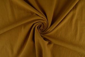 Cotton washed 44 dark ochre yellow
