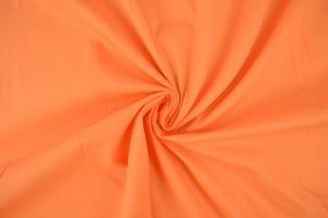 Cotton poplin 10 orange