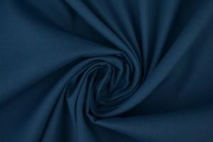 Cotton poplin 138 steel blue