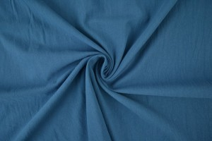 Cotton washed 138 steel blue