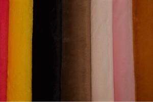 Color card fur soft
