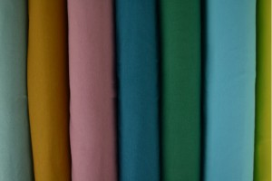 Color card cottonjersey
