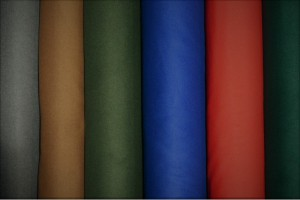 Color card wool