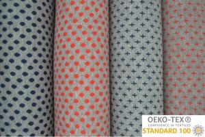 Cuff Fabrics Jacquard Prints