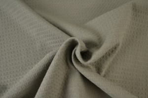 Waffle fabric special p69 taupe