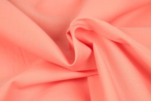 Cotton poplin 40 salmon pink