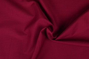 Cotton poplin 29 wine red