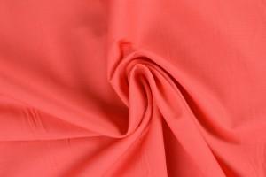 Cotton poplin 50 coral pink